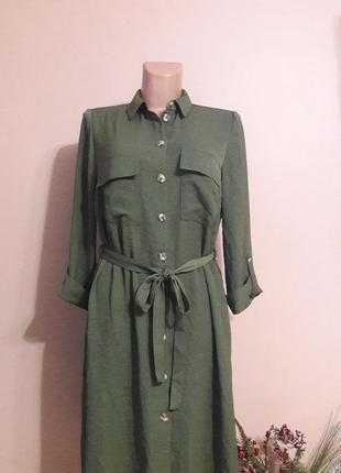 Платье рубашка) f&f