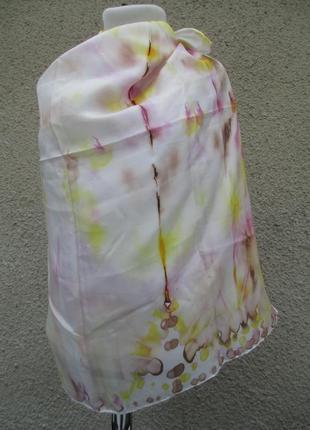 Шелковый платок 85х88