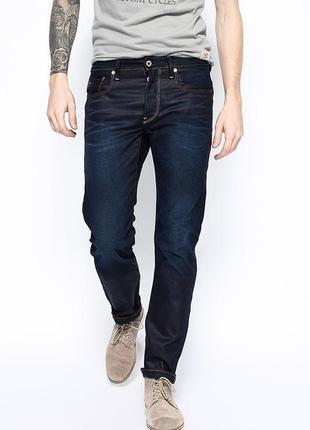 Шикарные мужские джинсы g-star raw р. 48-50 (33/34) индия
