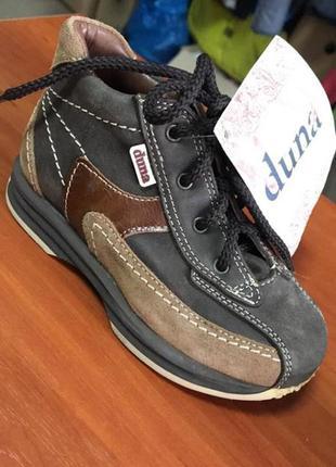 Шкіряні черевички-кросівки