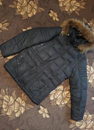 Теплая куртка парка, пуховик на зиму