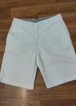 Denim co. белые коттоновые шорты