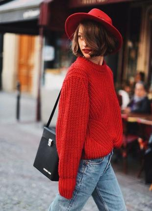 Классный шерстяной свитер h&m