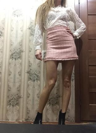Нежная кружевная блуза в стиле dior