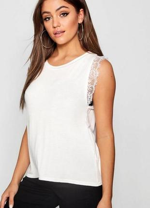 Boohoo, товар из англии. женская футболка, новая, размер 44-46.