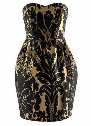 Шикарное коктейльное платье от h&m