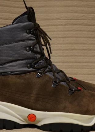 Зимние комбинированные мужские термоботинки puma tresenta gore-tex 43 р.