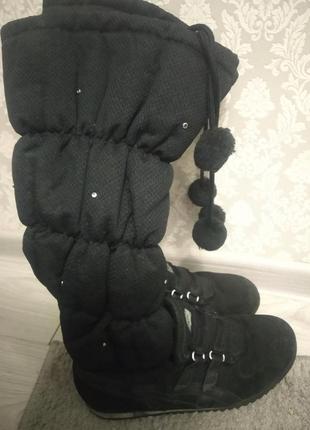 Теплі зимові чоботи-кросівки