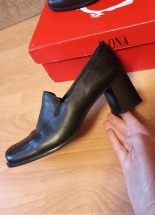 Немецкий бренд,шикарные,красивые,кожаные туфли,туфельки,лоферы,ботильоны,широкий каблук