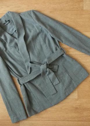 Пальто тренч, жакет в составе шерсть new look sale - 50%