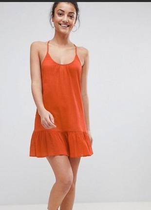 Легке платтячко asos design tall swim платье на купальник