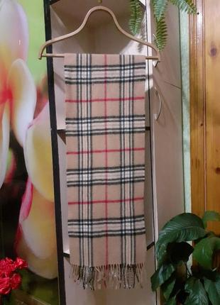 Тёплый шерстяной шарф fraas