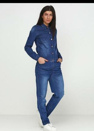 Комбинезон роба джинсовый
