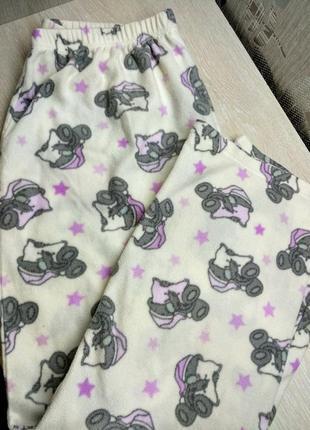 Флисовые пижамные штанишки george