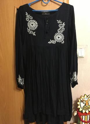Шикарное платье стиль бохо