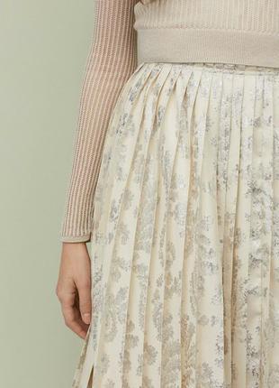 H & m conscious exclusive 2019 плиссированная юбка8 фото