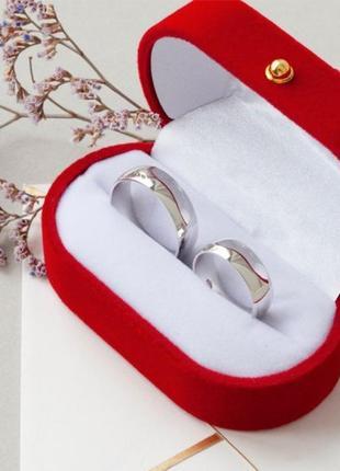 Кольцо обручальное серебро 925  ос1024