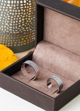 Кольцо обручальное серебро 925 ос7018