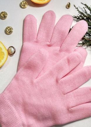 Spa перчатки | косметические увлажняющие перчатки spa gel gloves для смягчения кожи рук