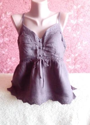Летняя блузка с вышивкой yessica.