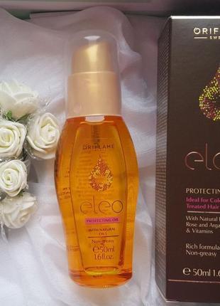 Защитная масло для волос eleo