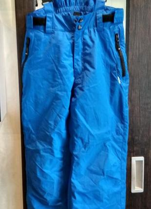 Горнолыжные, сноубордические брюки, штаны, полукомбинезон mountain peak