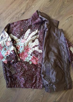 Куртка, веировка, двустороння куртка