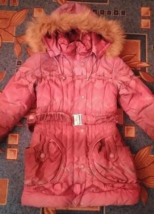 Тёплая куртка для девочки