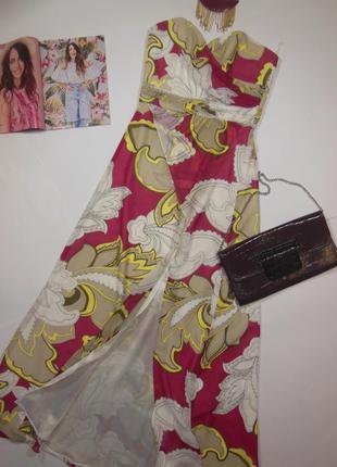 Вечернее платье бандо