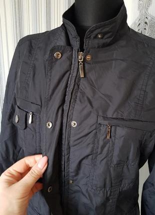 Брендовая болоньевая куртка ветровка жакет блейзер тренч демисезонная zara