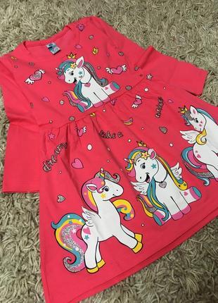 Платье для девочки 1-2 года