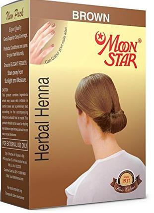 Натуральная хна травяная индийская мунстар,  moonstar