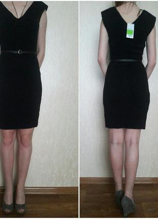 Новое черное платье mango