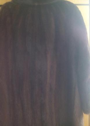 Шуба норковая в груди 105-110 длина 904
