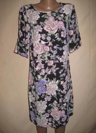 Вискозное платье размер10