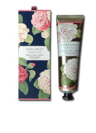 Laura ashley! натуральный крем для рук, большая красивая упаковка, цветочный запах