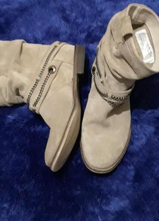 Ботинки  челси замшевые bollboxer
