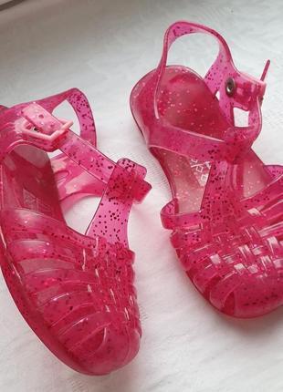 Летние резиновые силиконовые сандали - босоножки аквашузы