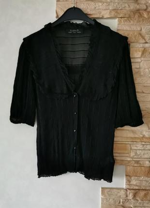 Брендовая шёлковая блуза kristina ti  италия
