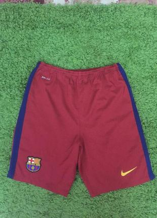 Детские спортивные шорты nike barcelona р 158