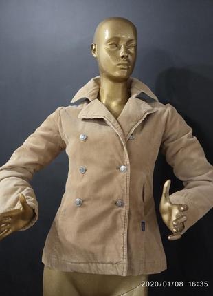Куртка вельветовая. утепленная вельветовая куртка-пиджак