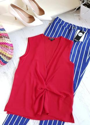 Блуза красная topshop