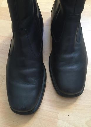 Кожаные сапоги ботинки ara
