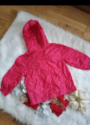 Куртка плащовка дощовик вітровка для дівчинки 3-4 рочки george.
