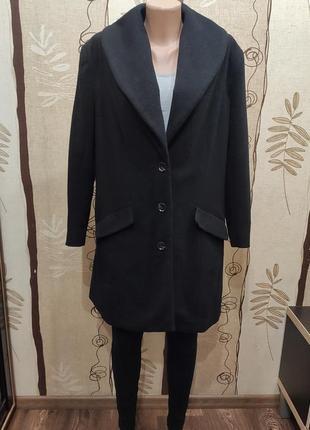 Bonprix черное демисезонное пальто