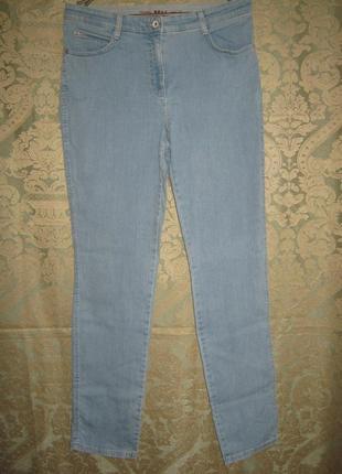 Brax оригинал джинсы скини хорошо тянутся 93%котон высокая посадка штаны брюки джинсовые