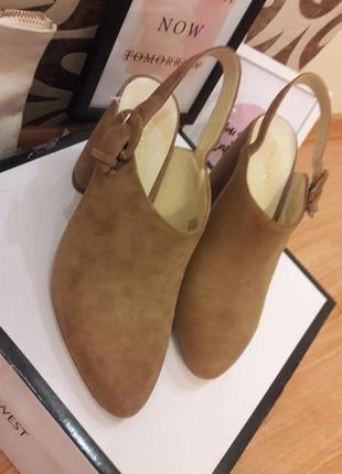 #розвантажуюсь   бежевые замшевые туфли nine west