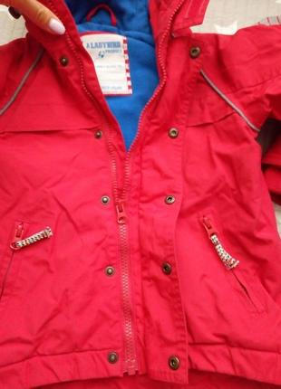 Куртка детская на осень зиму ladybird