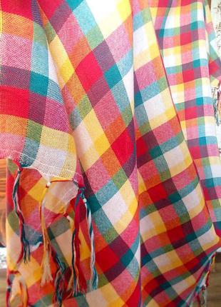 Стильный большой платок 100х90см