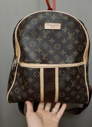 Портфель рюкзак louis vuitton